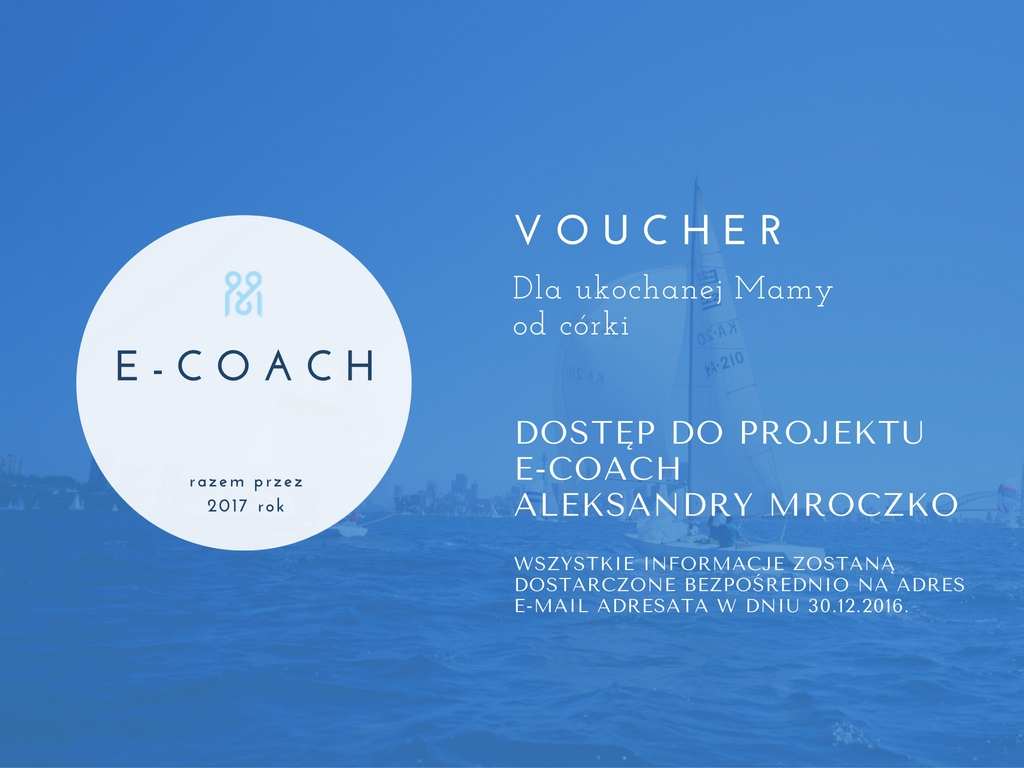e-coach - voucher